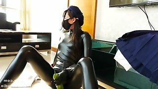 Follow our tw: fetishslavestudio latex girl s private life 3
