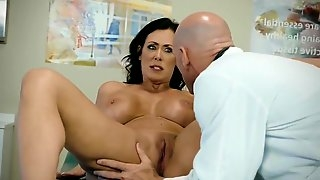 Big titted mature lady fucked on doctor table - ThePornClinic