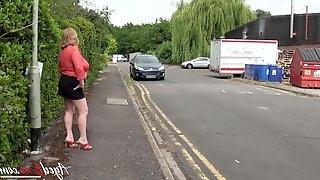 Threesome sex with british blonde mature and horny handy hardcore loving guys