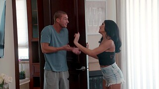 Nice fucking in the bedroom with seductive model Chloe Amour