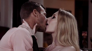 Passionate lover fucks hot blooded babe Emma Starletto and makes her orgasm